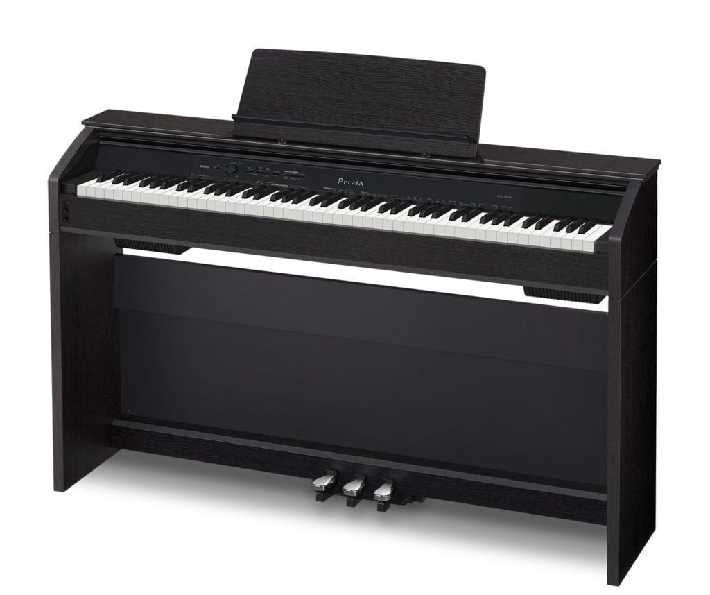 Casio PX860 BK Privia Digital Home Piano, Black