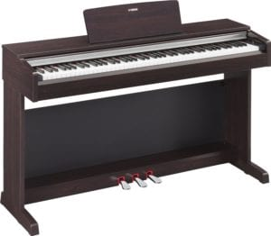 Yamaha YDP142R Arius Series Traditional Console Digital Piano with Bench, Rosewood