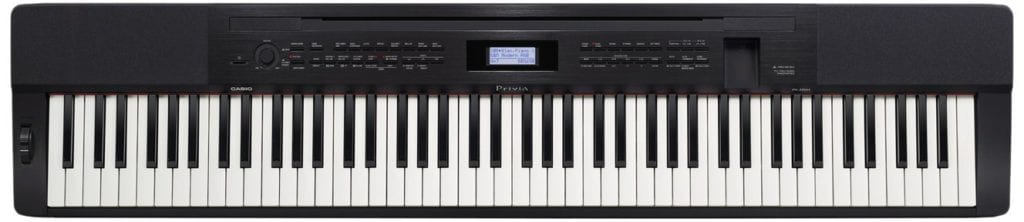 Casio PX350 BK 88-Key Touch Sensitive Privia Digital Piano