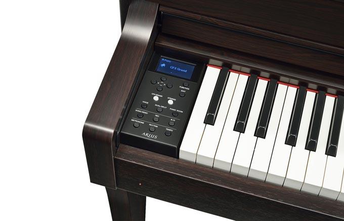 Controls of Yamaha YDP-184