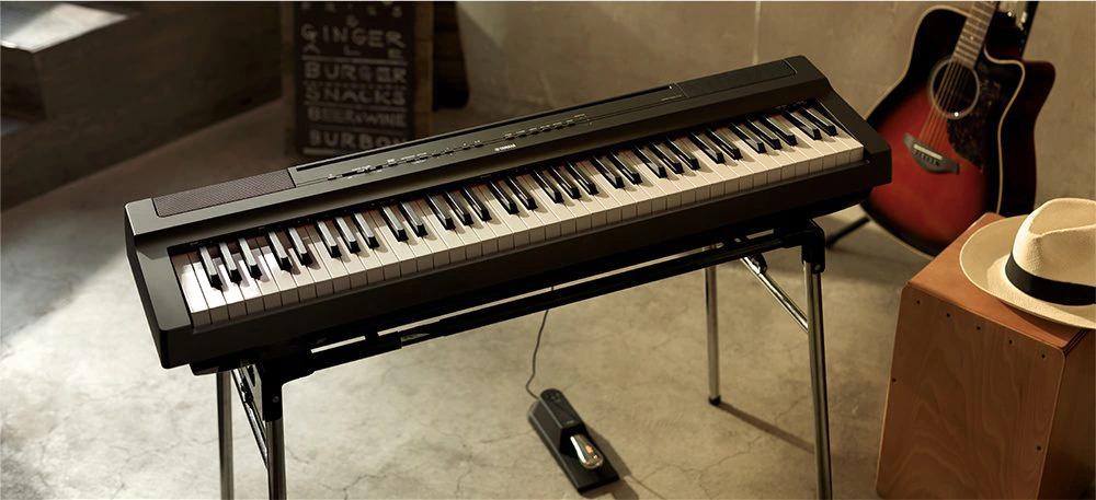 Design of Yamaha P121