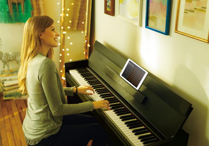 Design of Yamaha YDPS54B Arius Series Digital Piano