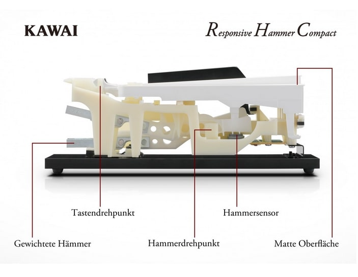 Graded Hammer of Kawai ES110