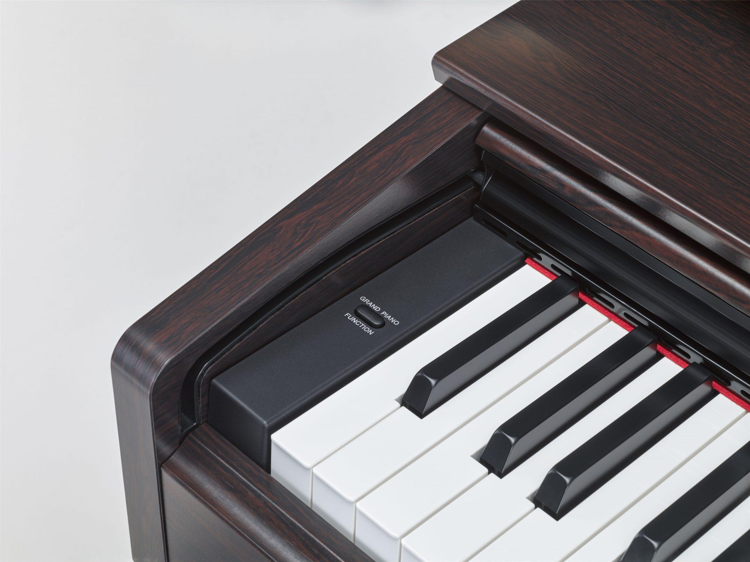 Keys and Functions of Yamaha YDP-103