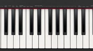Keys of Casio CDP-S100