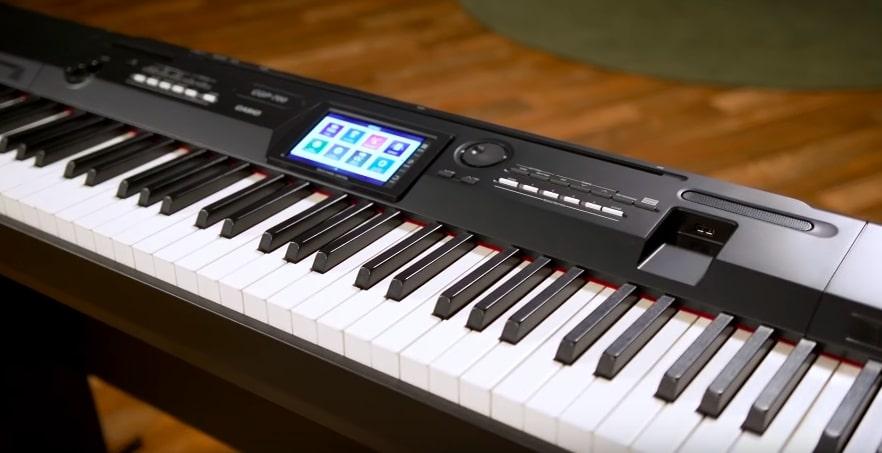 Keys of Casio CGP-700