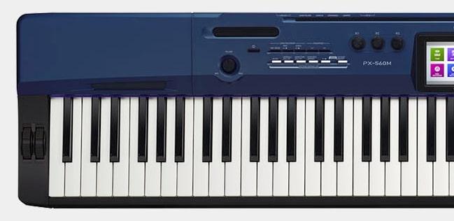 Keys of Casio Privia PX-560