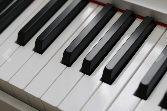 Keys of Yamaha P125