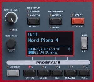Nord Piano 4 Stage Piano Features