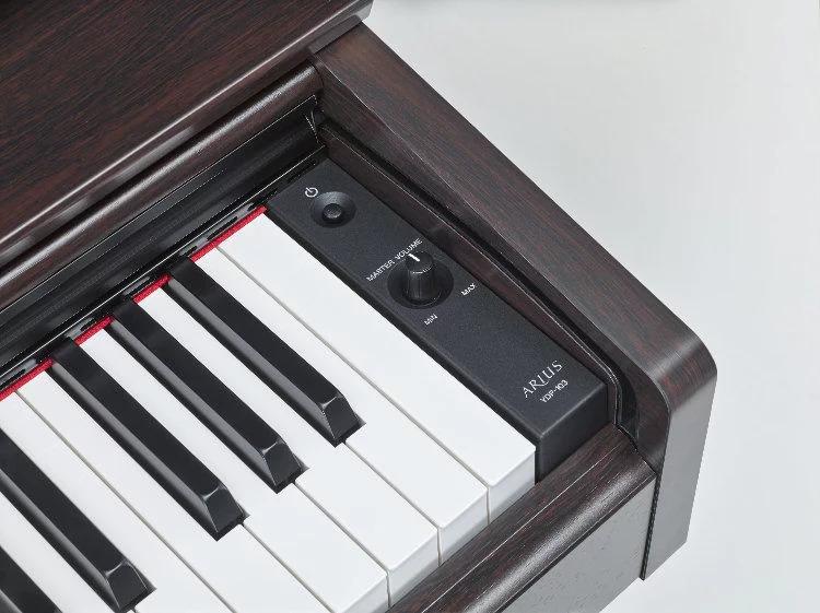 Volume Controls of Yamaha YDP-103