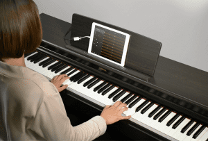 Design of Yamaha YDP-144 Arius Series Piano