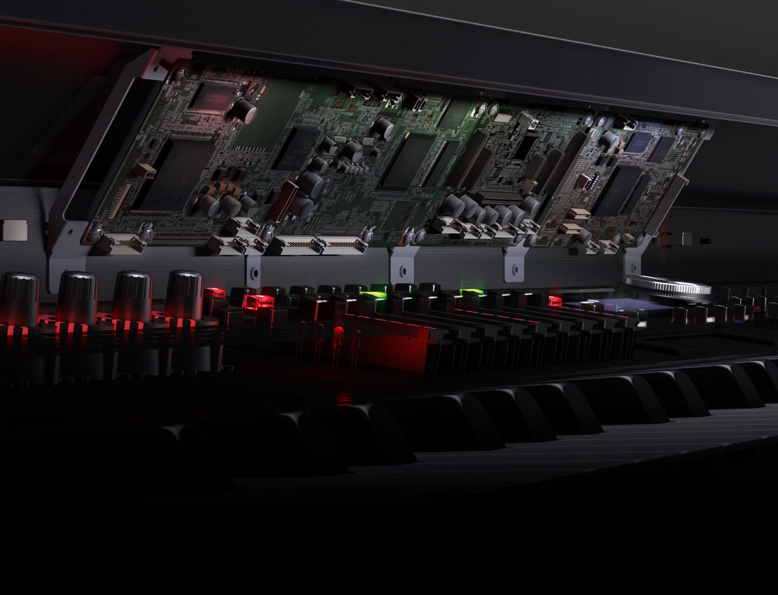 Performance features of Roland RD-2000
